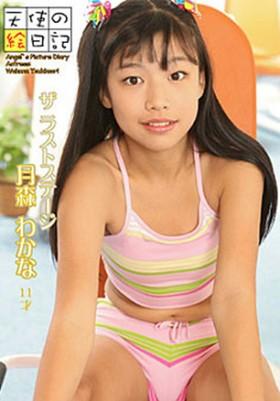 「天使の絵日記」 ザ ラスト ステージ 月森わかな 11才 表紙画像