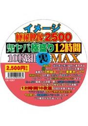 イメージ極秘映像2500 鬼ヤバ極盛り12時間10枚組裏MAX