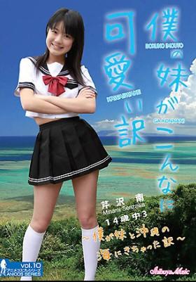 芹沢南 僕の妹がこんなにかわいい訳 ~僕が妹と沖縄の海にきちゃった訳~(アニメコスプレシリーズ10) 表紙画像