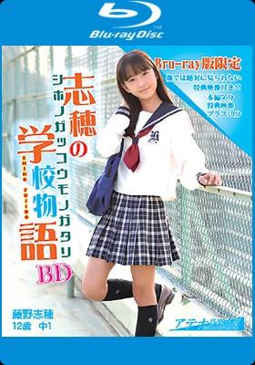 藤野志穂 志穂の学校物語 BD 表紙画像