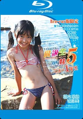 桜木ひな 同級生の妹5 ニュー1年生 BD 表紙画像