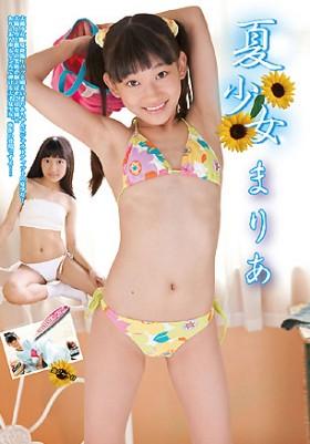 夏少女 まりあ DVD版 表紙画像