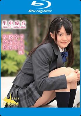 里中優音 学校なう 高校生の恋愛事情 BD 表紙画像