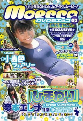 ポイント3倍!)DVD moecco VOL-2 ひまわり 夢本エレナ 表紙画像
