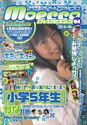 DVD moecco VOL-4 小学5年生 かな 表紙画像
