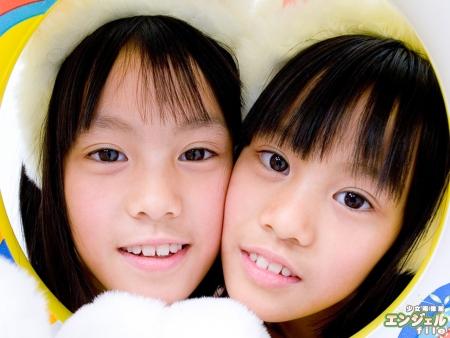 少女画像館 エンジェルfile 『希&優(ふたご) デジタルムービー Vol.02』 表紙画像