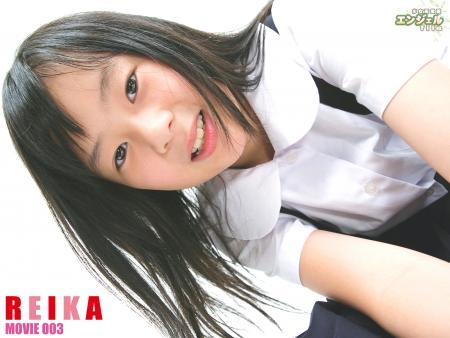 少女画像館 エンジェルfile 『reika 小5デジタルムービー Vol.03』 表紙画像