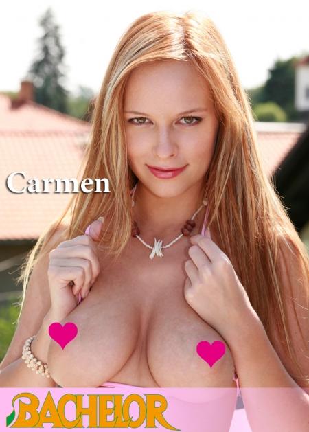 『BACHELOR』 海外美女セレクション Carmenデジタル写真集