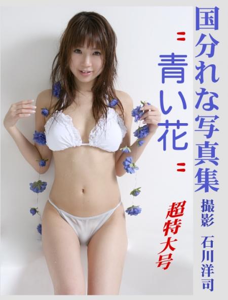 国分れな写真集 青い花