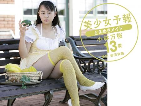 美少女予報 ときめきメイド 小林万桜13歳