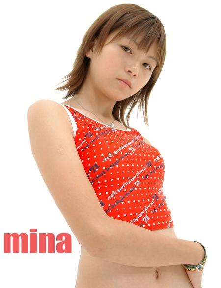 少女画像館 エンジェルfile 『mina 中1デジタル写真集 Vol.03』 表紙画像
