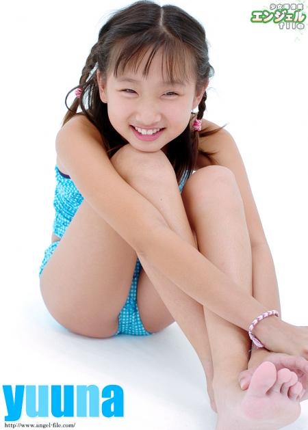 少女画像館 エンジェルfile 『yuuna 小5デジタル写真集 Vol.10』 表紙画像