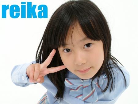少女画像館 エンジェルfile 『reika 小2 デジタル写真集 Vol.01』 表紙画像