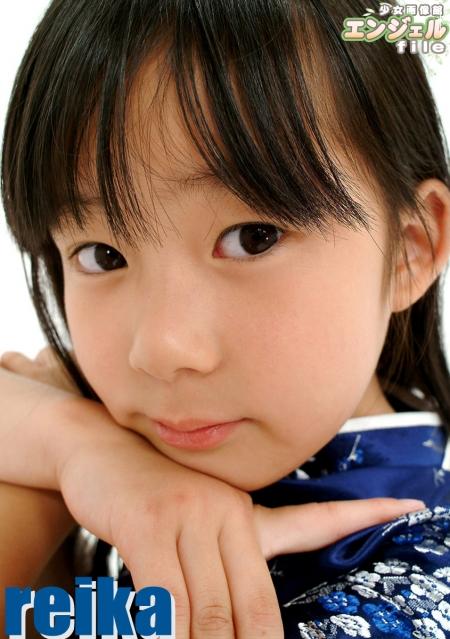 少女画像館 エンジェルfile 『reika 小2 デジタル写真集 Vol.03』 表紙画像