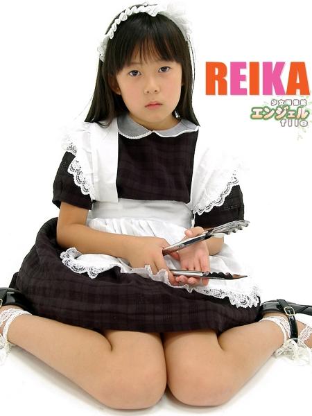 少女画像館 エンジェルfile 『reika 小2 デジタル写真集 Vol.04』 表紙画像